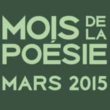 Mois de la poésie 2015