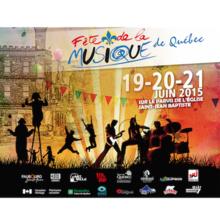 Fête de la Musique de Québec 2015