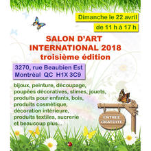 Salon d'Art International 2018 (3e édition)