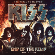 KISS | TOURNÉE MONDIALE END OF THE ROAD