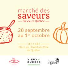Marché des saveurs du Vieux-Québec