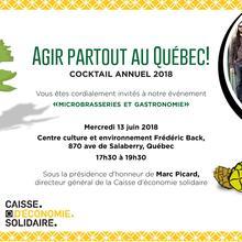 Cocktail-bénéfice annuel de Nature Québec