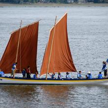Voile et aviron sur le Fleuve Saint-Laurent