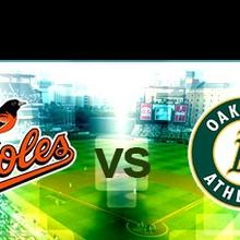 Baseball Senior CRSA: Orioles vs A's