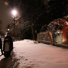 Visite guidée à la lanterne des crèches du Trait-Carré
