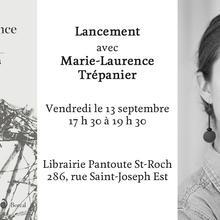 Lancement avec Marie-Laurence Trépanier