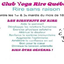 Club de rire - laughter club - centre-ville de Qc