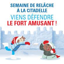 Viens défendre le Fort Amusant!