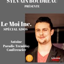 Sylvain Boudreau présente