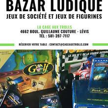 Bazar ludique : Jeux de société et figurines