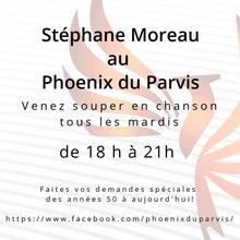 Stéphane Moreau en souper-spectacle