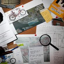 Vélo-Bureau. Le chemin pour se rendre