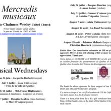 Mercredis Musicaux