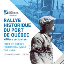 Rallye historique du Port de Québec