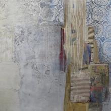 """ODETTE THÉBERGE : """"RÉSONANCES - Les murs se racontent"""" - peinture"""