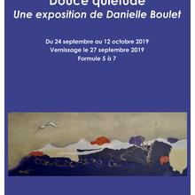 DOUCE QUIÉTUDE par Danielle Boulet