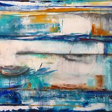 exposition des oeuvres de l'artiste peintre Céline Martel