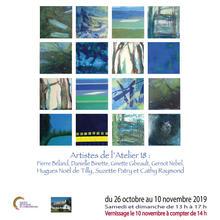 """Exposition """"En toute liberté""""  Sept artistes de l'Atelier 18 - Cellule 3"""
