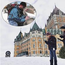 GéoRallye Vieux-Québec Sous la neige : histoires et traditions