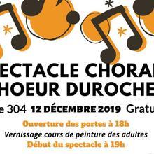 Spectacle de Noël Choeur Durocher