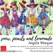 Exposition de la peintre canadienne Angela Morgan