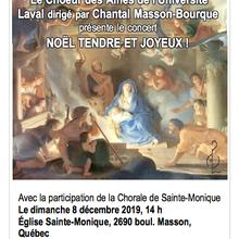 Choeur des Aînés de l'Université Laval, un concert de Noël