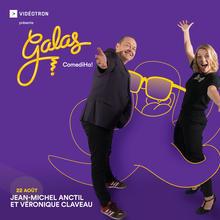 Gala ComediHa! animé par Jean-Michel Anctil et Véronique Claveau