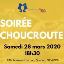 Repas choucroute