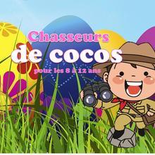 Chasseurs de cocos (8-12 ans) pour Pâques