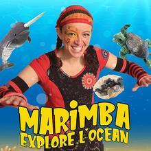 Théâtre ambulant - Marimba explore l'océan, par Animagination (2 à 8 ans), SPÉCIAL BEACH PARTY