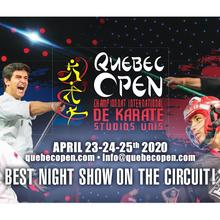 Championnat International de Karaté Québec Open