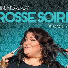 Christine Morency en rodage