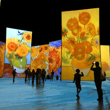 L'exposition Imagine Van Gogh