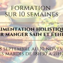 Fortmation en ligne: Alimentation Holistique
