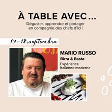 À table avec...Mario Russo de Birra & Basta
