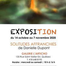 Exposition Danielle Dupont