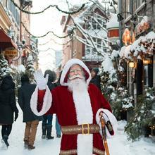 Animations de Noël au Quartier Petit Champlain