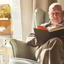 Des livres pour nos aînés en résidence