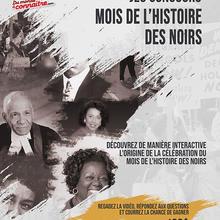 MHN 2021 | Jeu Concours – Sur les traces du Mois de l'histoire des Noirs