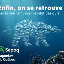 Une année remplie de découvertes à l'Aquarium du Québec!