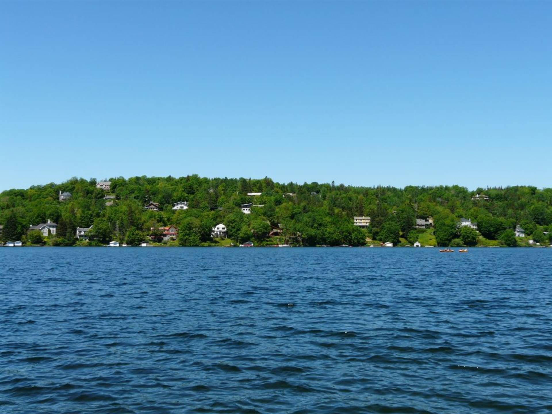 Vue sur le Lac-Beauport