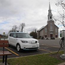 Le tour de l'Île d'Orléans en voiture électrique