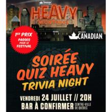 Soirée quiz Heavy Montréal