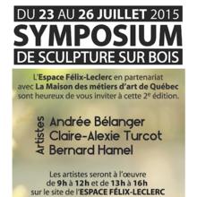 Symposium de sculpture sur bois