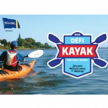 Défi kayak Desgagnés Montréal-Québec 2015