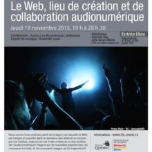 Le Web, lieu de création et de collaboration audionumérique
