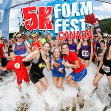 5K Foam Fest Québec